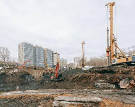 ЖК «Level Причальный»: ход строительства, Февраль 2021