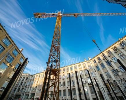 МФК «Lumin»: ход строительства, Март 2021