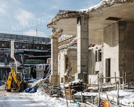 ЖК «Victory Park Residences»: ход строительства, Март 2021