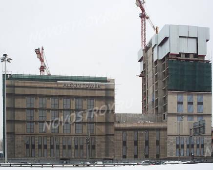 МФК «Alcon Tower»: ход строительства, Март 2021