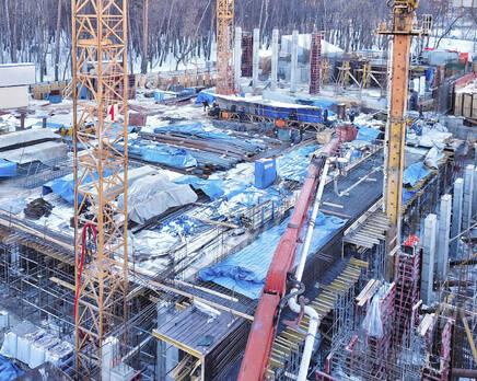 МФК «B'aires»: ход строительства, Март 2021