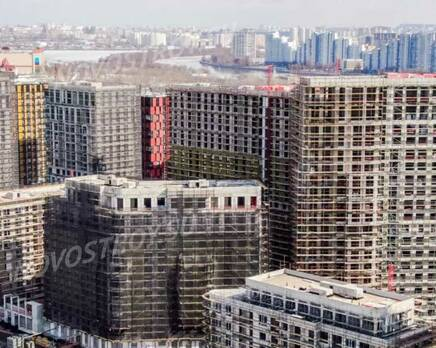 ЖК «Now. Квартал на набережной»: ход строительства 1 очереди, Апрель 2021