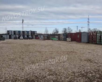 МЖК «Любоград»: ход строительства корпуса №1, Апрель 2021