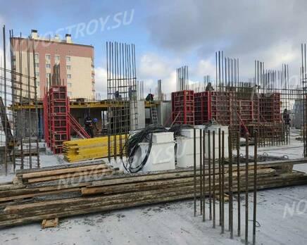 ЖК «Расцветай на Ядринцевской»: ход строительства, Апрель 2021