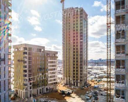 ЖК «Alia»: ход строительства, Апрель 2021