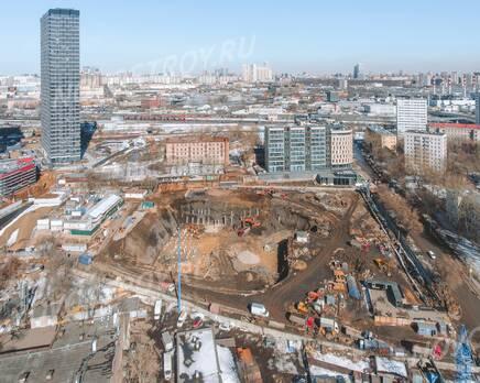 ЖК «Level Причальный»: ход строительства, Апрель 2021