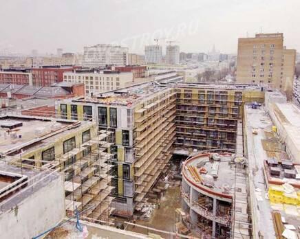 МФК «Roza Rossa»: ход строительства, Апрель 2021