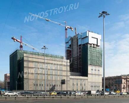 МФК «Alcon Tower»: ход строительства, Апрель 2021