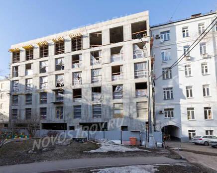 ЖК «Titul на Якиманке»: ход строительства, Апрель 2021