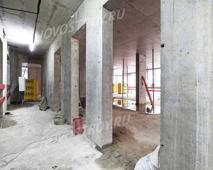 МФК «Lumin»: ход строительства, Апрель 2021