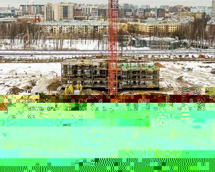 ЖК «Кантемировская 11»: ход строительства, Апрель 2021