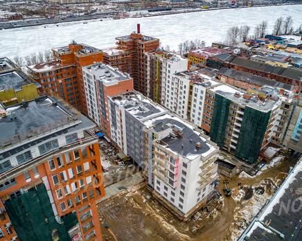ЖК «Эталон на Неве»: ход строительства, Апрель 2021