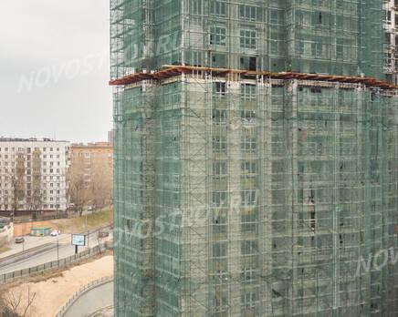ЖК «RiverSky»: ход строительства корпуса №1, Май 2021