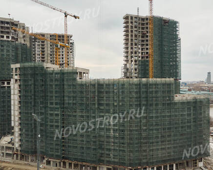 ЖК «RiverSky»: ход строительства корпуса №2, Май 2021