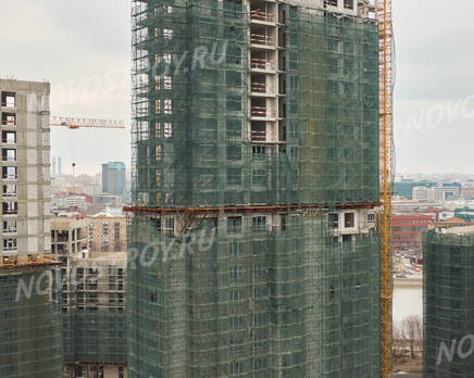 ЖК «RiverSky»: ход строительства корпуса №3, Май 2021