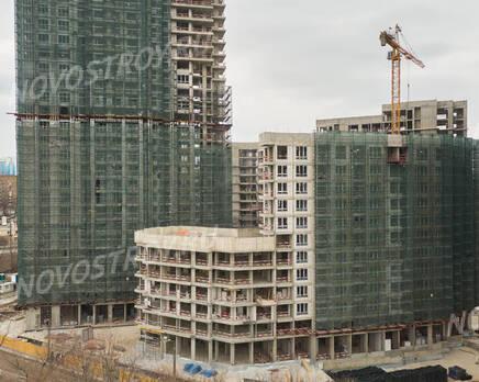 ЖК «RiverSky»: ход строительства корпуса №4, Май 2021