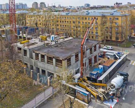 МФК «Residence Hall Шаболовский»: ход строительства, Май 2021