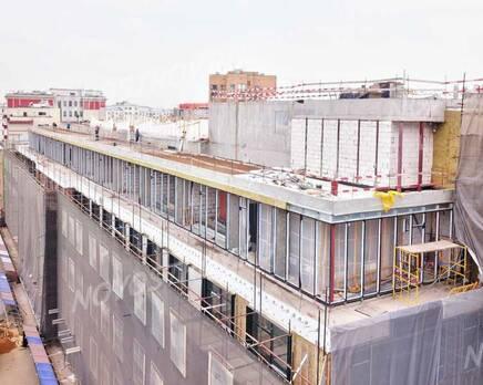 МФК «Roza Rossa»: ход строительства, Май 2021