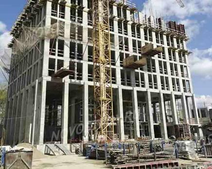 МФК «B'aires»: ход строительства, Май 2021