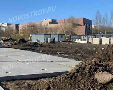 МФК «Monodom Lake»: ход строительства, Май 2021