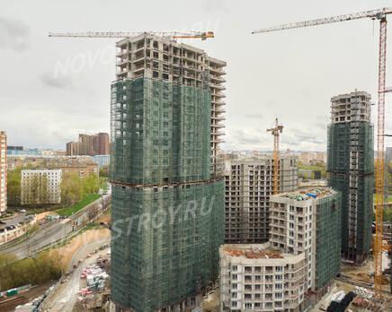 ЖК «RiverSky»: ход строительства корпуса №1, Июнь 2021