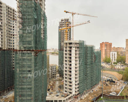 ЖК «RiverSky»: ход строительства корпуса №2, Июнь 2021