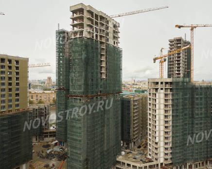 ЖК «RiverSky»: ход строительства корпуса №3, Июнь 2021