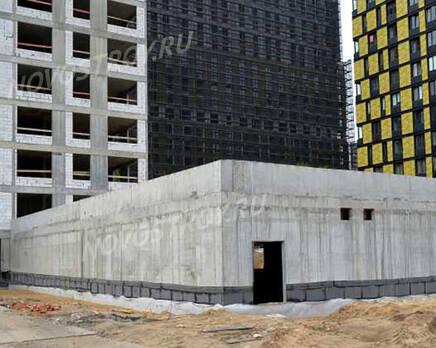 ЖК «Nagatino i-Land»: ход строительства, Июнь 2021