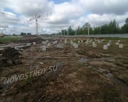 МЖК «Любоград»: ход строительства корпуса №3, Июнь 2021