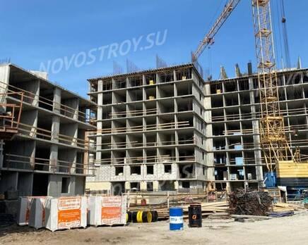ЖК «Жукова 18»: ход строительства, Июнь 2021