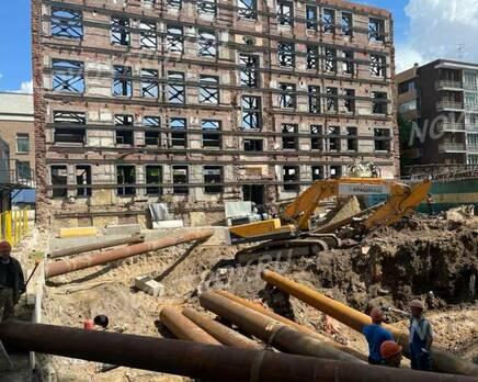 ЖК «High Garden»: ход строительства, Июнь 2021