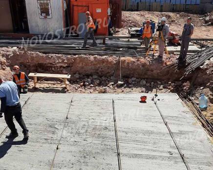 МФК «Allegoria Mosca»: ход строительства, Июнь 2021