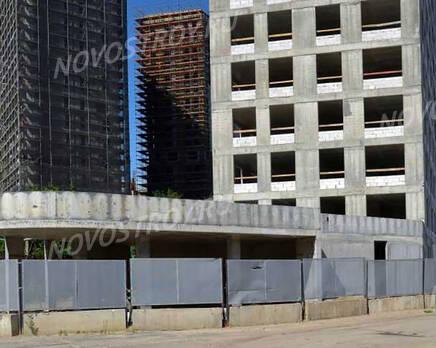 ЖК «Nagatino i-Land»: ход строительства, Июль 2021