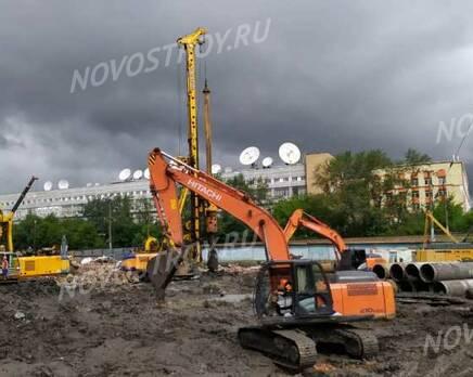 ЖК Symphony 34: ход строительства, Июль 2021