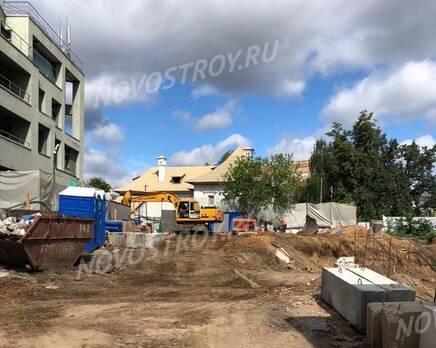 МФК «Allegoria Mosca»: ход строительства, Июль 2021