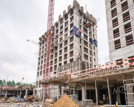 ЖК «City Bay»: ход строительства, Июль 2021