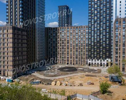 ЖК «balance»: ход строительства корпуса №1, Август 2021