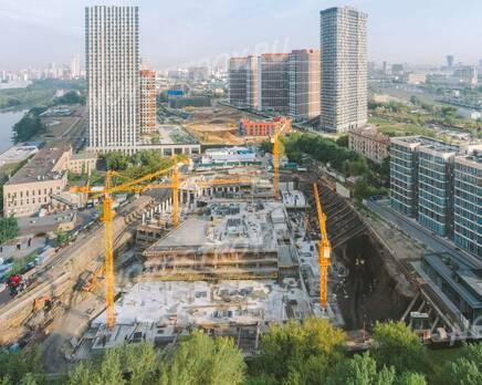 ЖК «Level Причальный»: ход строительства, Август 2021