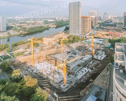 ЖК «Level Причальный»: ход строительства , Август 2021