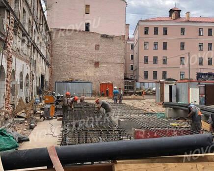 МФК «Allegoria Mosca»: ход строительства, Август 2021