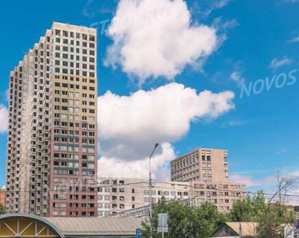 МФК «MainStreet»: ход строительства , Август 2021