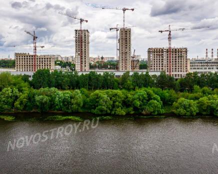 ЖК «City Bay»: ход строительства, Август 2021
