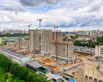ЖК «City Bay»: ход строительства , Август 2021
