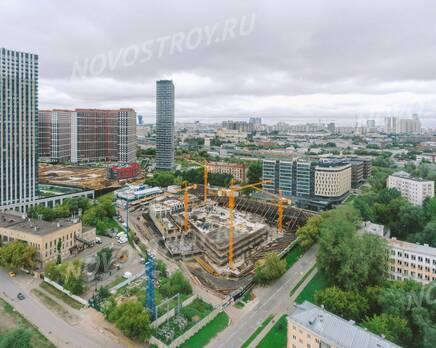 ЖК «Level Причальный»: ход строительства, Сентябрь 2021