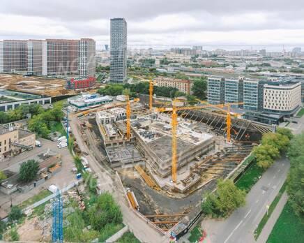 ЖК «Level Причальный»: ход строительства , Сентябрь 2021