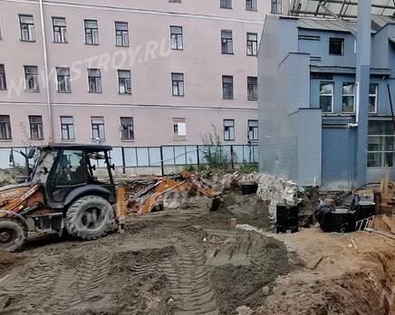 МФК «Allegoria Mosca»: ход строительства, Сентябрь 2021