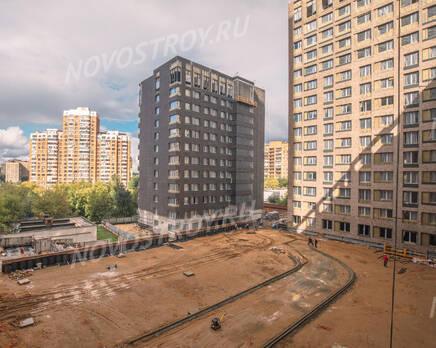 МФК «MainStreet»: ход строительства, Сентябрь 2021