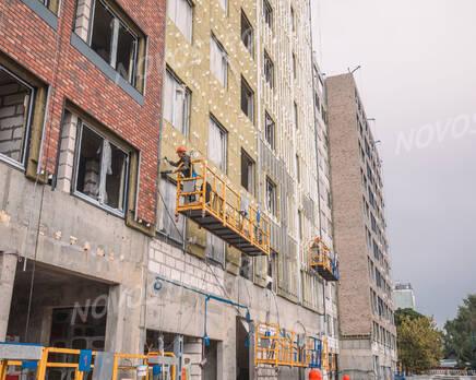 МФК «MainStreet»: ход строительства , Сентябрь 2021