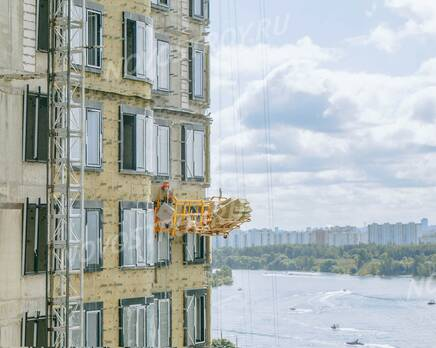 МФК «Level Стрешнево»: ход строительства, Сентябрь 2021
