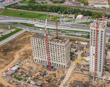 ЖК «City Bay»: ход строительства, Сентябрь 2021